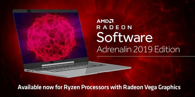 Radeon Software Adrenalin 2019 Edition 19.2.3 s podporou Ryzen Mobile