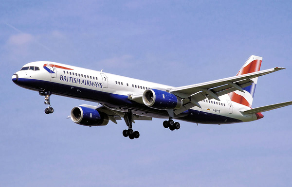 Letadlo British Airways