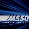 "Crucial M550: výkonná 2,5"", mSATA i M.2 SSD"