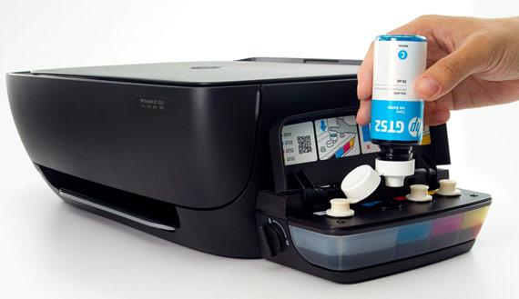 HP DeskJet GT 5820 All-in-One plnění