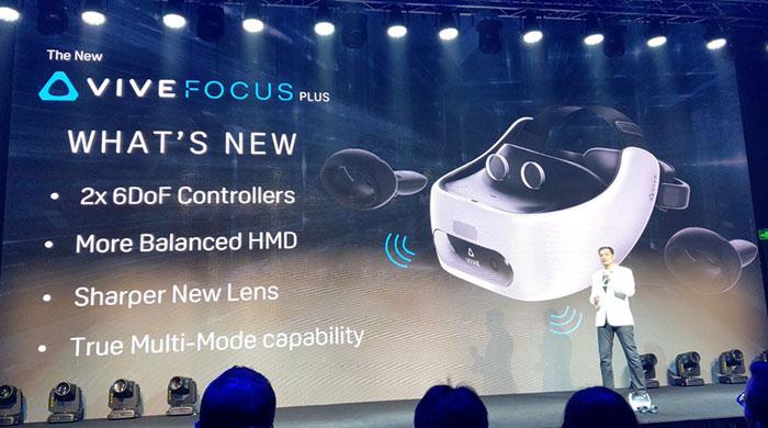 89eb8ed22 HTC Vive Focus Plus přijde v dubnu za 799 USD, co nabídne? | Svět hardware