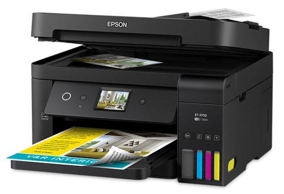 Epson WorkForce ET-4750 EcoTank