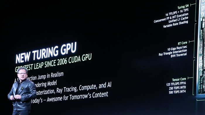 NVIDIA unveiled Turing, anticipating GeForce RTX 2080 and
