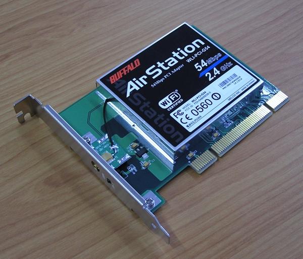 BUFFALO WLI-PCI-G54S TREIBER WINDOWS 10
