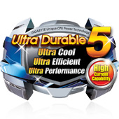Ultra Durable 5 a nové technologie desek Gigabyte