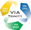 VIA Trinity: VIA Nano + DirectX 10.1 + HD Video + Mini–ITX 2.0